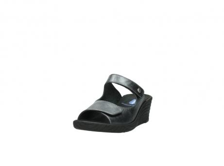 wolky slippers 4678 arenal 928 grijs metallic leer_21