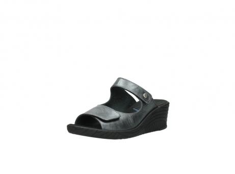 wolky slippers 4678 arenal 928 grijs metallic leer_22