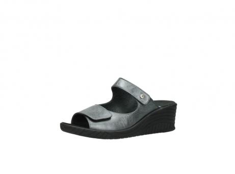 wolky slippers 4678 arenal 928 grijs metallic leer_23
