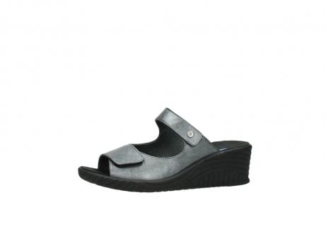 wolky slippers 4678 arenal 928 grijs metallic leer_24