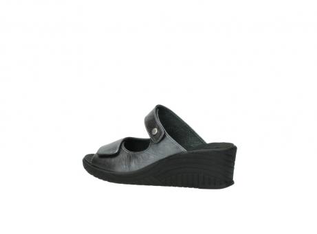 wolky slippers 4678 arenal 928 grijs metallic leer_3