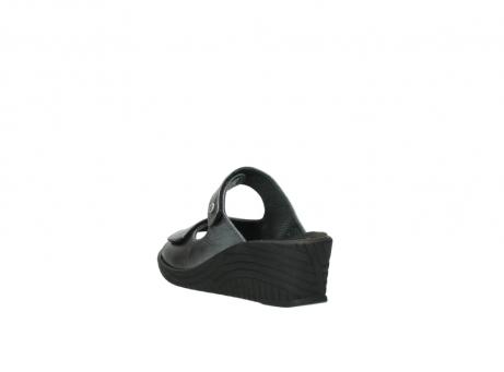 wolky slippers 4678 arenal 928 grijs metallic leer_5
