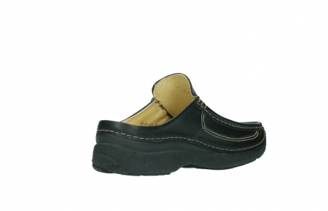 wolky slippers 9210 roll slide men 500 zwart leer_10