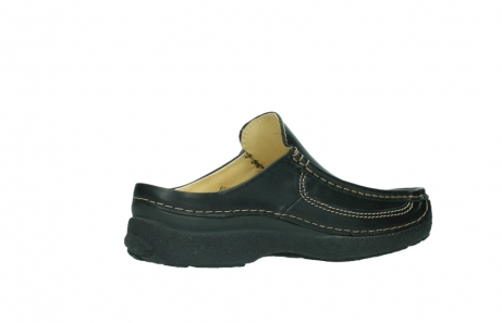 wolky slippers 9210 roll slide men 500 zwart leer_11
