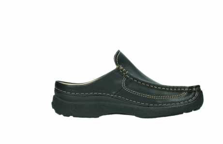 wolky slippers 9210 roll slide men 500 zwart leer_13