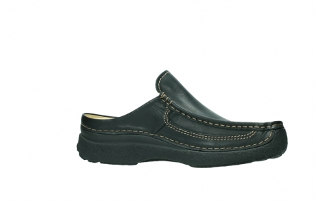 wolky slippers 9210 roll slide men 500 zwart leer_14