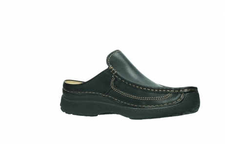 wolky slippers 9210 roll slide men 500 zwart leer_15