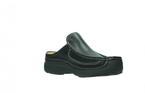 wolky slippers 9210 roll slide men 500 zwart leer_16