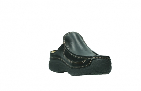 wolky slippers 9210 roll slide men 500 zwart leer_17