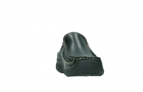 wolky slippers 9210 roll slide men 500 zwart leer_18