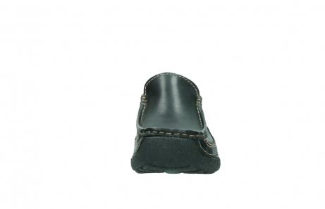 wolky slippers 9210 roll slide men 500 zwart leer_19