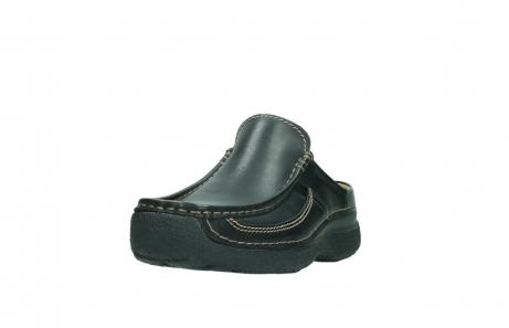 wolky slippers 9210 roll slide men 500 zwart leer_21