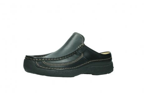wolky slippers 9210 roll slide men 500 zwart leer_23