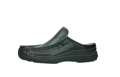 wolky slippers 9210 roll slide men 500 zwart leer_24