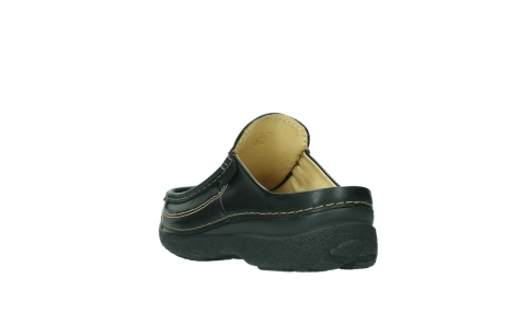 wolky slippers 9210 roll slide men 500 zwart leer_5