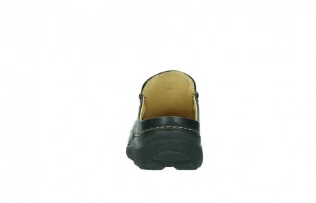 wolky slippers 9210 roll slide men 500 zwart leer_7