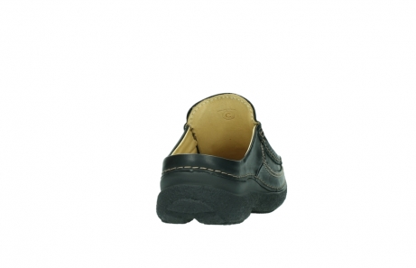 wolky slippers 9210 roll slide men 500 zwart leer_8