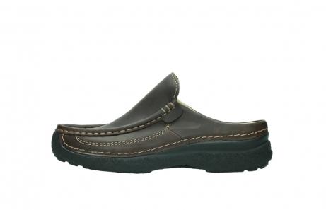 wolky slippers 9210 roll slide men 530 bruin leer_1