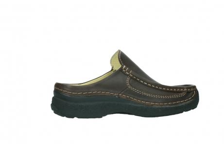 wolky slippers 9210 roll slide men 530 bruin leer_12