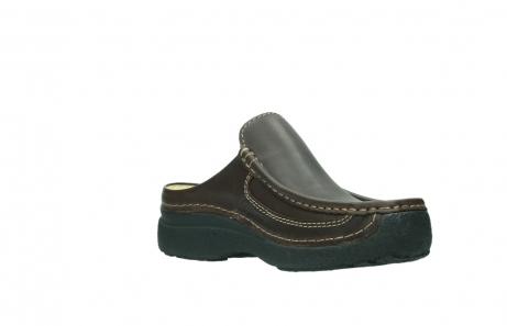 wolky slippers 9210 roll slide men 530 bruin leer_16