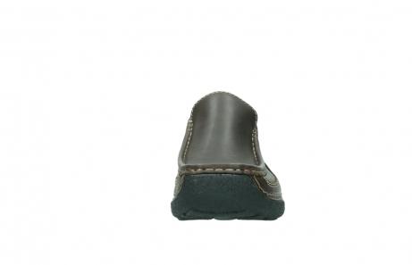 wolky slippers 9210 roll slide men 530 bruin leer_19
