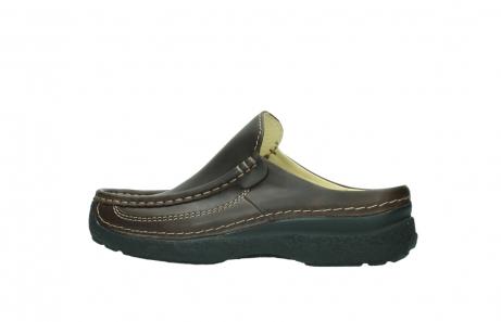 wolky slippers 9210 roll slide men 530 bruin leer_2