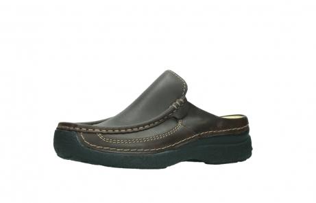 wolky slippers 9210 roll slide men 530 bruin leer_23