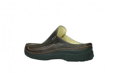 wolky slippers 9210 roll slide men 530 bruin leer_3