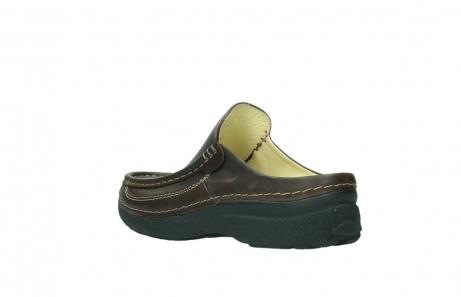 wolky slippers 9210 roll slide men 530 bruin leer_4