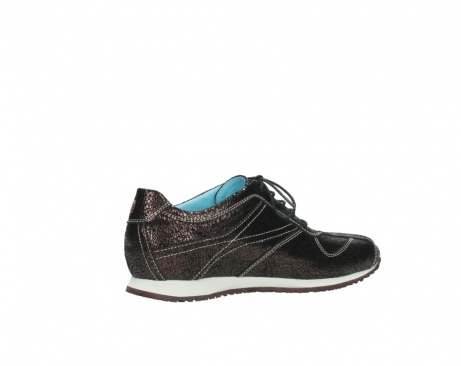 wolky sneakers 01480 ibrox 90300 brown craquele leather_11