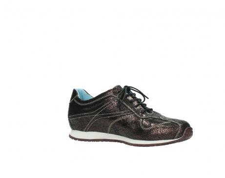 wolky sneakers 01480 ibrox 90300 brown craquele leather_15