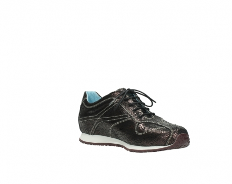 wolky sneakers 01480 ibrox 90300 brown craquele leather_16
