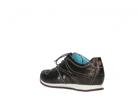 wolky sneakers 01480 ibrox 90300 brown craquele leather_4