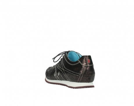 wolky sneakers 01480 ibrox 90300 brown craquele leather_5