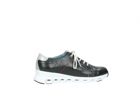 wolky trainers 02051 mega 30070 black summer leather_12