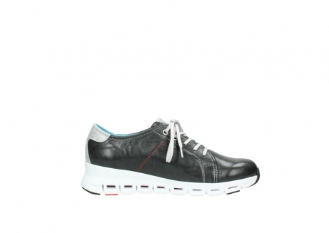 wolky trainers 02051 mega 30070 black summer leather_13