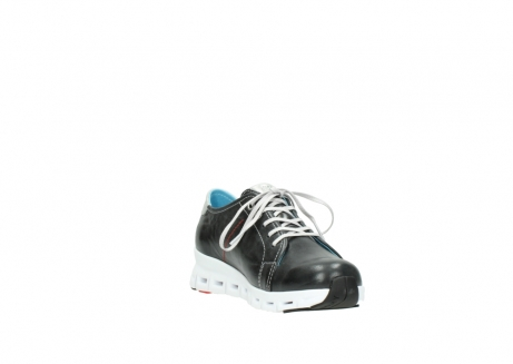 wolky trainers 02051 mega 30070 black summer leather_17