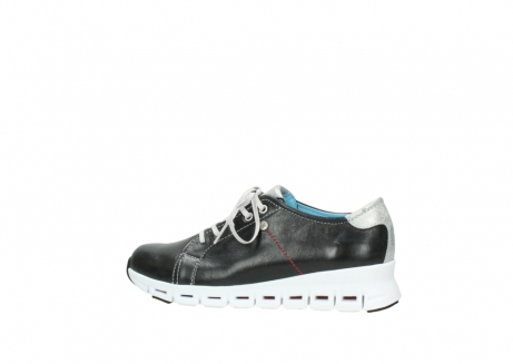 wolky trainers 02051 mega 30070 black summer leather_2