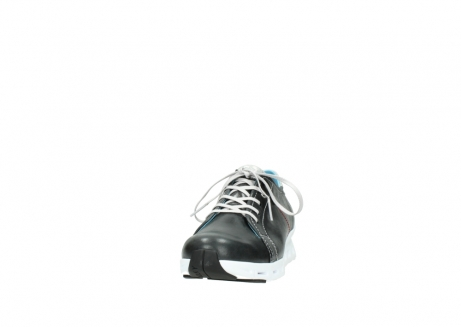wolky trainers 02051 mega 30070 black summer leather_20
