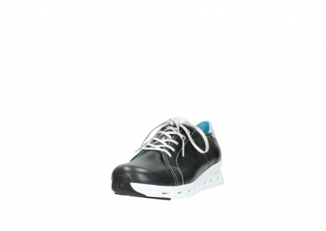 wolky trainers 02051 mega 30070 black summer leather_21