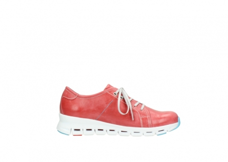 wolky sneakers 02051 mega 30570 rood zomer leer_13