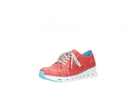 wolky sneakers 02051 mega 30570 rood zomer leer_22
