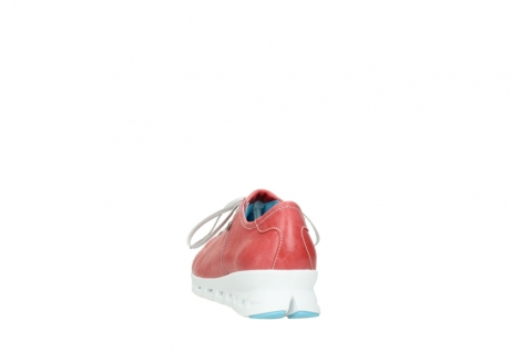 wolky sneakers 02051 mega 30570 rood zomer leer_6