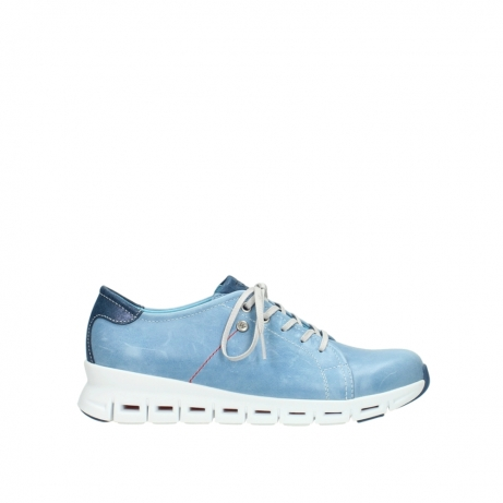 wolky sneakers 02051 mega 30820 denim leer