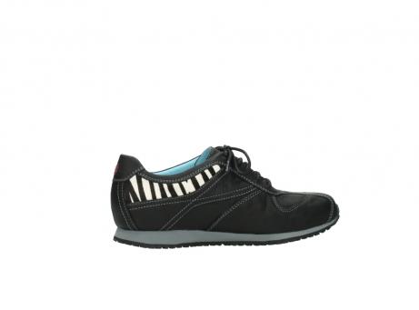 wolky sneakers 1480 ibrox 207 zwart zebraprint leer_12