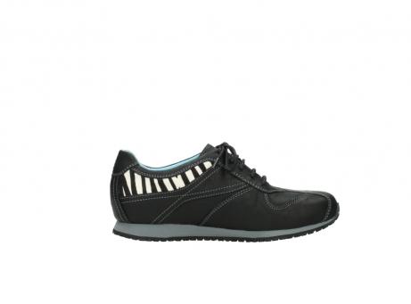 wolky sneakers 1480 ibrox 207 zwart zebraprint leer_13