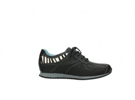 wolky sneakers 1480 ibrox 207 zwart zebraprint leer_14