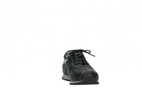 wolky sneakers 1480 ibrox 207 zwart zebraprint leer_18