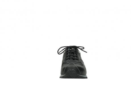 wolky sneakers 1480 ibrox 207 zwart zebraprint leer_19