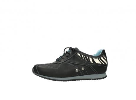 wolky sneakers 1480 ibrox 207 zwart zebraprint leer_24